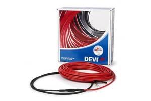 Тепла підлога Deviflex 10T двожильний кабель з суцільним екраном, 1990W, 13.2 м. кв.(140F1233)