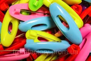 Булавки для шарфа пластмассовые 4х1.5см