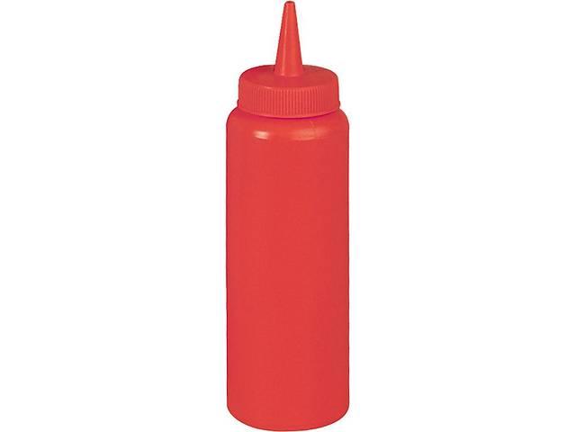 бу Бутылка пластиковая для соусов FoREST 360 мл красная 503601 в Чернигове