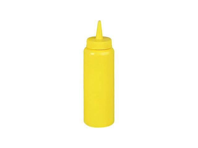 бу Бутылка пластиковая для соусов FoREST 360 мл желтая 503602 в Чернигове