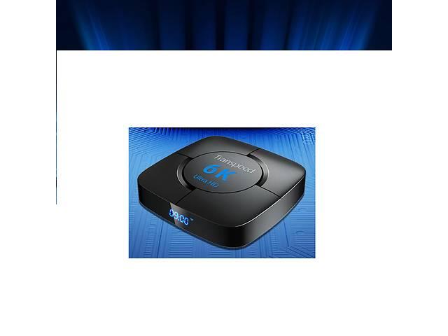 продам 4/32 ГБ ТВ бокс Android TV Box Transpeed 6K ТВ приставка бу в Славянске