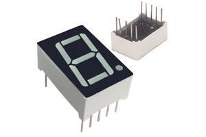 7-сегментний індикатор 0. 56 & quot;червоний 10pin катод Arduino