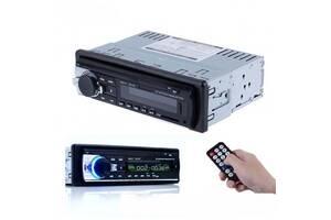 Автомагнитола Ukc 1DIN MP3 520BT-MP3 Bluetooth ЖК дисплей USB SD MMC мощность 60х4 Вт с пультом управления