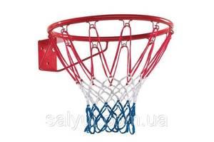 Баскетбольное кольцо 45 см с сеткой