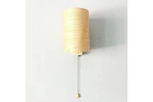 Бра настенный светильник с выключателем в стиле лофт деревянный Woodidea Bra Eco T1 Бежевый (wdi_t1)