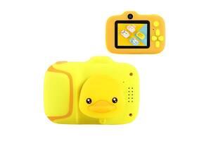 Детская Фотокамера Smart Kids Cam G 7 Duck Plus Противоударный Фотоаппарат 20 Mpx, Full HD 1920x1080P, фото и видео с...