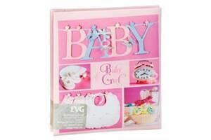 Детский фотоальбом EVG 20SHEET BABY COLLAGE W/BOX 6239789 розовый