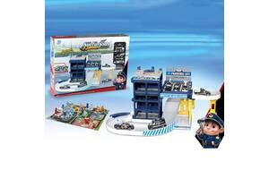 Дитячий ігровий паркінг Поліція LANFA TOYS 9977-56A