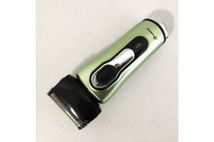 Электробритва бритва GEMEI GM-7110. Цвет: зеленый