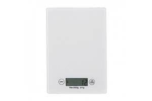Электронные кухонные сенсорные весы, white