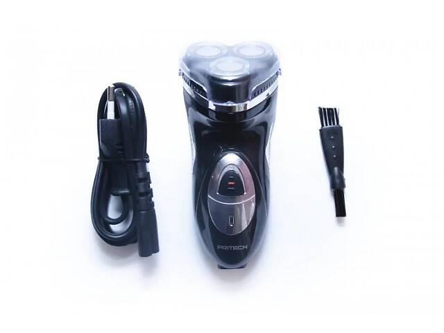 Электрическая мужская электробритва для бороды Pritech 503 роторная аккумуляторная электро бритва для мужчин- объявление о продаже  в Харькове