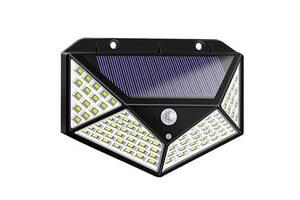 Фонарь прожектор 100 ЛЕД на солнечной панели Solar Wall Lamp SH-100