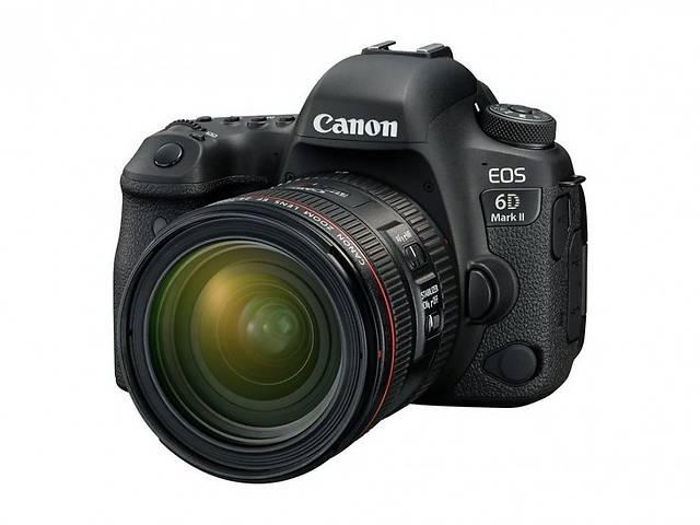 бу Фотоаппарат Canon EOS 6D Mark II kit (24-70mm f/4 IS L) в Харкові