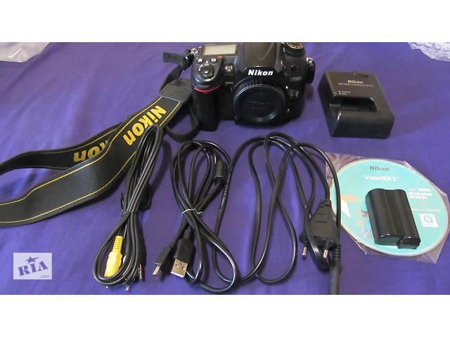 Фотоаппарат NIKON D 7000 body! Сумы!- объявление о продаже  в Сумах