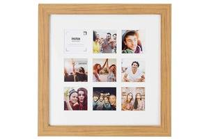Фоторамка Fujifilm Instax 9 Mount Square Frame Oak коричневый