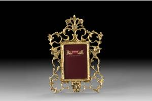 Фоторамка VIRTUS CRISTA SMALL 26х19 см 700 гр Золотистий (4788)