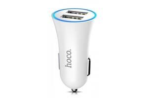 Hoco C204 (2USB, 2.4A) white (Код товара:11408)