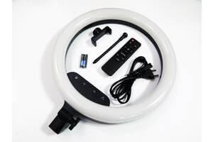 Кольцевая LED лампа AL-360 36см 220V 1 крепл.тел + пульт