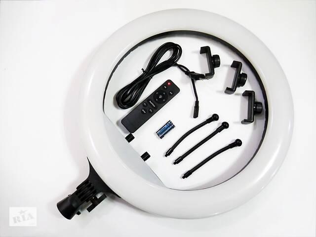 продам Кольцевая LED лампа RL-18 45см  220V 3 крепл.тел. + пульт + чехол бу в Одессе