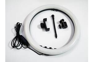 Кольцевая LED лампа  SMN-12 30см 1 крепл.тел USB