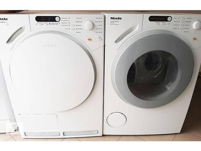 бу Комплект стиральная машина и сушильная машина Miele W1514 Miele T 7744 С в Луцке