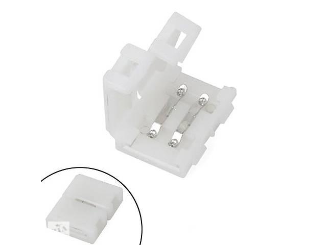 купить бу Коннектор зажимной 2pin для светодиодных лент 8мм SMD 3528 2835 в Киеве
