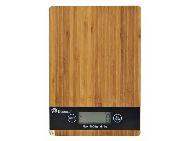 бу Кухонные весы Domotec MS-A 5 кг с точностью 1 грамм (FL-224) в Киеве