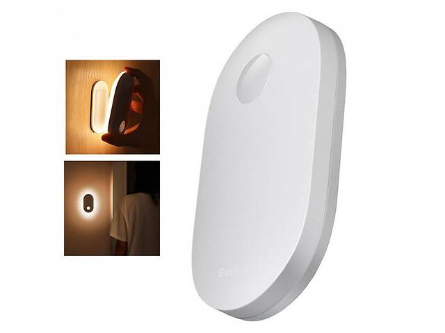 купить бу Лампа нічник індукційна з датчиком руху BASEUS White Light ( DGSUN-RB02) в Самборі
