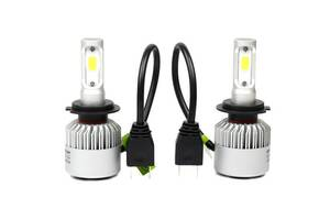 Лампы светодиодные автомобильные Partol S2 H7 PX26d 12В 72Вт 8000лм