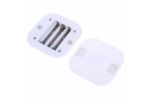LED светильник лампа с датчиком движения и фоторезистором, белый