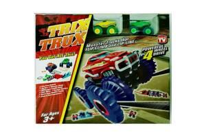 Монстр трак автомобильный трек TRIX TRUX (Трикс Тракс) на 2 машинки