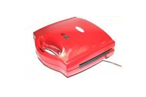 Мультимейкер гриль сендвичница вафельница 3-в-1 Wimpex WX-1056 700W Red (112765)