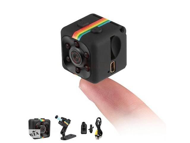 бу Мини камера Mini DV SQ11 + MicroSD 32 GB Class 10 в Кременчуге
