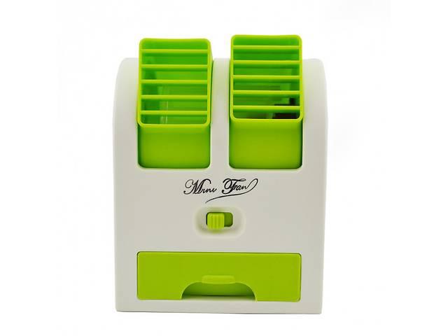купить бу Мини-кондиционер вентилятор Mini Fan UKC HB-168 Green в Маріуполі