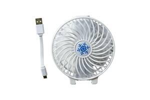 Мини вентилятор Mini Fan Белый