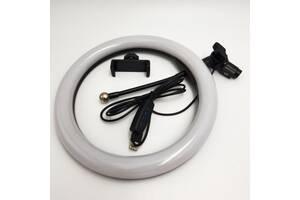 Набор блогера 2 в 1 кольцевая LED лампа 26 см 16W штатив 2 м (OP 2038689611)
