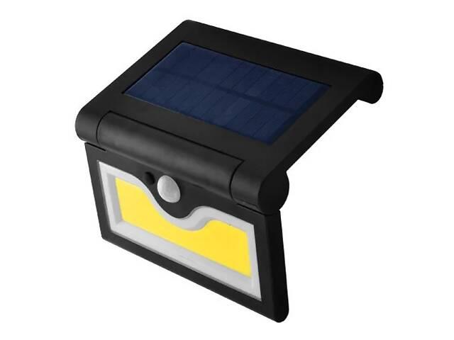 купить бу Настенный уличный светильник SH-090B-COB, 1x18650, PIR+CDS с датчиком движения, солнечная батарея в Одессе