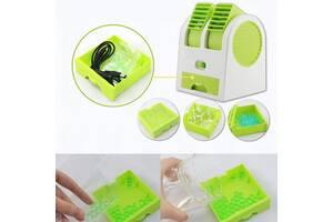 Портативный аккумуляторный настольный мини вентилятор Fan ручной USB мини вентилятор на батарейках