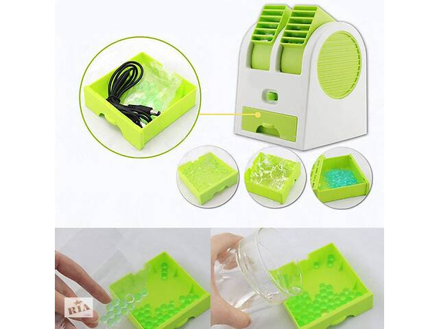 бу Портативный аккумуляторный настольный мини вентилятор Fan ручной USB мини вентилятор на батарейках в Харкові