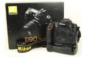Nikon D90 body + бат.блок + 2 аккума.