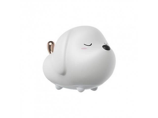 купить бу Ночник Baseus Cute Series Doggie Silicone Night Light White (DGAM-B02) в Самборі