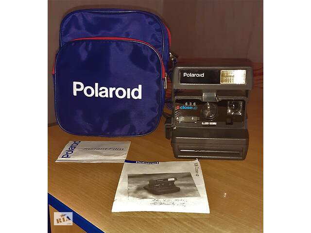 купить бу Новый, функционирующий Polaroid 626 CloseUp + ПОДАРОК фирменная сумка! в Измаиле