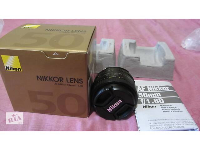 продам Объектив Nikon AF NIKKOR 50 mm 1,8! Сумы! бу в Сумах