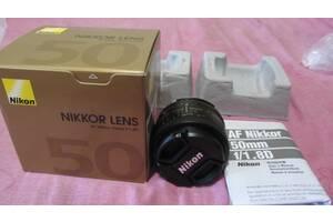 Объектив Nikon AF NIKKOR 50 mm 1,8! Сумы!