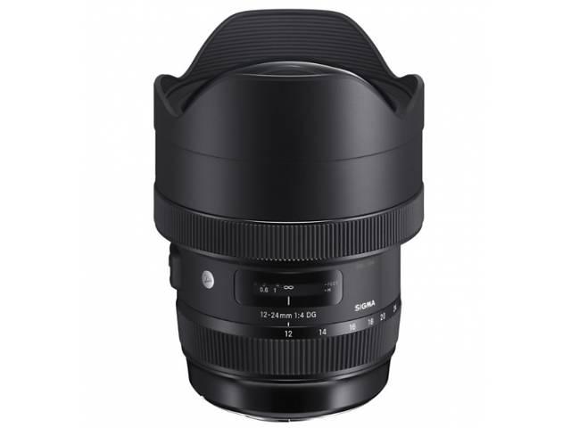 Объектив Sigma AF 12-24/4,0 DG HSM Art Canon- объявление о продаже  в Харькове