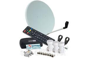 ПОПУЛЯРНЫЙ - комплект для самостоятельной установки спутникового ТВ