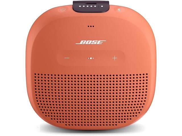 купить бу Портативная колонка Bose SoundLink Micro Black Оранжевый в Полтаве