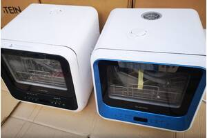 Посудомийна автономна машина 2 в 1 Klarstein Amazonia Mini.Бесплатная доставка.Для дачі, общежітій.Качественная