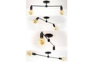 Потолочный светильник на 2 лампы