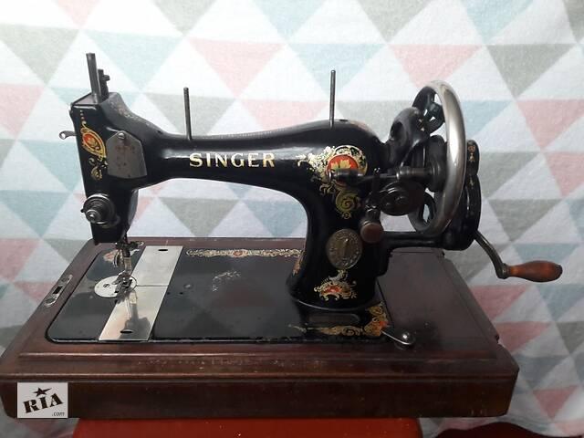 Продам старинную швейную машинку& quot; SINGER& quot ;.